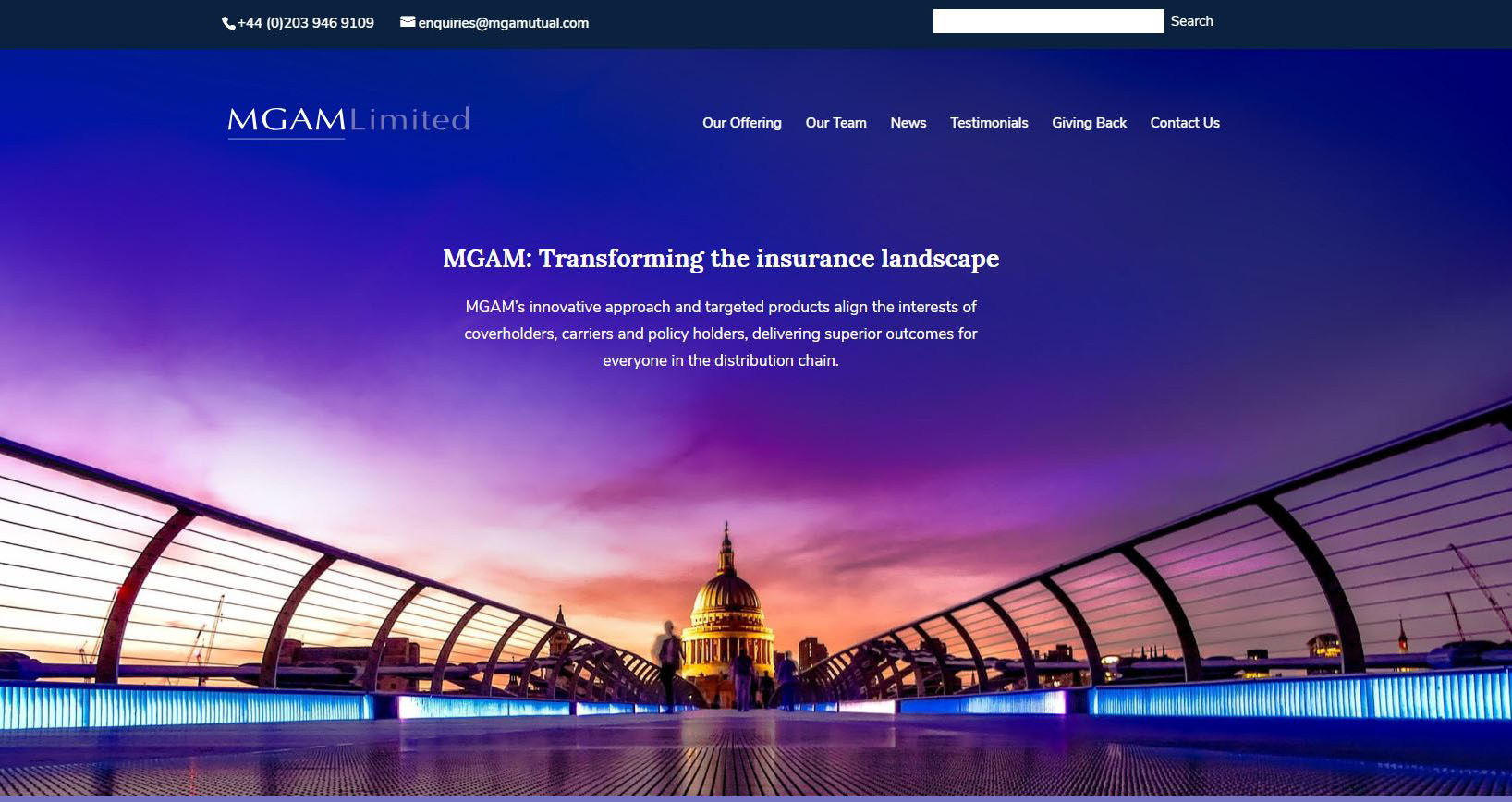 MGAM Site Creation - Case Study 1