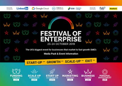 An image of Festival of Entreprise NEC media pack_cover